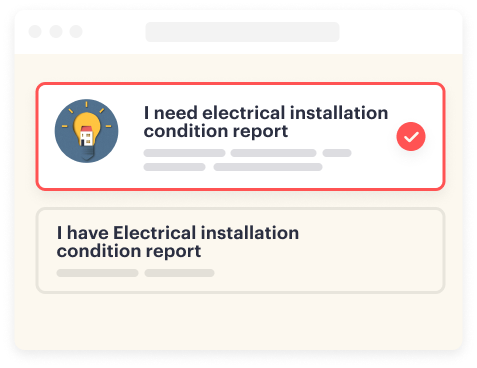 Book an Electrical Installation Condition Report