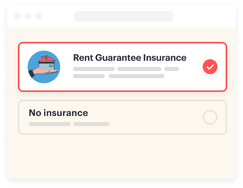 Choose your contents insurance cover option