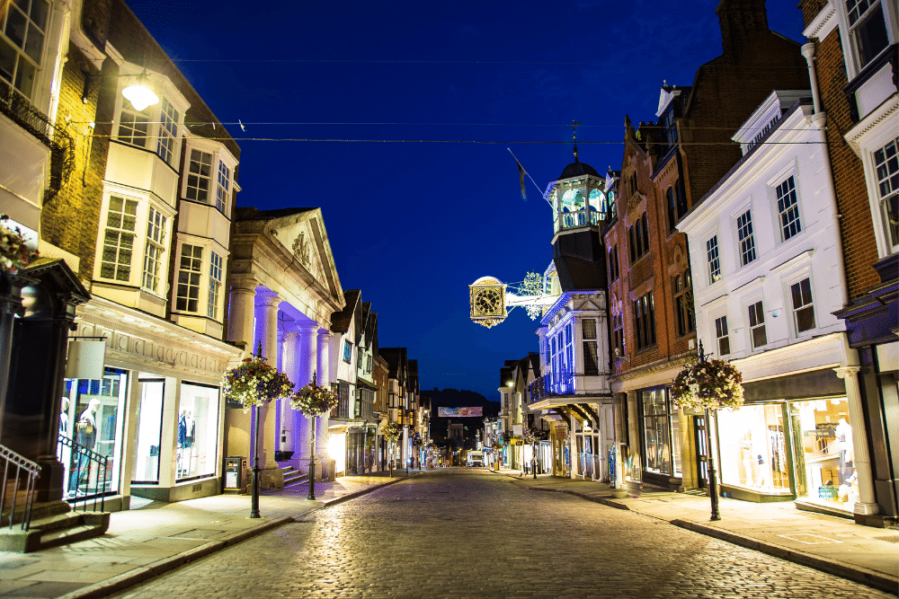 A picture of a High Street